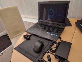 Samsung Gaming laptop np700g7c s01uk BOXED