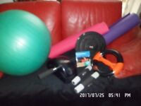 Pilates/yoga set/kit