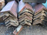 Reclaimed roof ridge tiles 32ish
