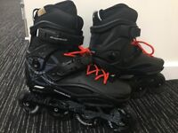 *Good Condition* Size 6 Rollerblade RB 80 Inline Skates 2017 RRP £139.95 (Bag included)