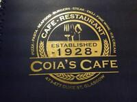 Restaurant Manager - Coia's Cafe and Restaurant - *Competitive Pay + Bonus*