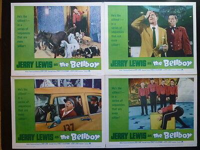 R66/1961 THE BELLBOY -NM 8 LOBBY CARD SET - JERRY LEWIS