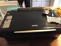 Epsom printer +1x black ink