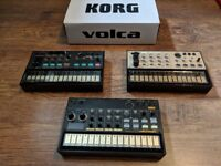 Korg Volca Keys, FM and Beats (BUNDLE) + Multi Power Supply for all 3 units
