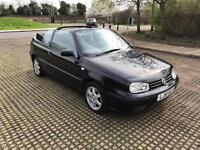 VW GOLF 2001 CONVERTIBLE AUTOMATIC. LONG MOT DRIVES PERFECT