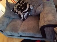 2 seater sofa less than a year old. Never used.