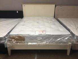 Ex-display/seconds 5ft solid bed and mattress £350