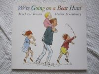 Brand new We're Going on a Bear Hunt Paperback.