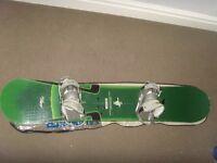 Snowboard. Burton bullet 164cm wide