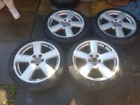 Audi A3/a4 -S line -18 inch alloys