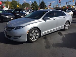 2014 LINCOLN MKZ BASE- LEATHER HEATED  MEMORY SEATS, BACKUP SENS