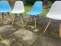 Set of 4 ikea chairs