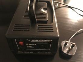 Mercury 300W UK to US step down voltage converter