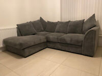 Dunelm Left Hand Corner Sofa
