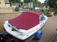 Speedboat Bowrider Regal 1700 XLR with 3 ltr mercruiser inboard engine.