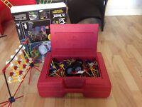 Huge Bundle of Knex 1000 plus pieces plus a vintage Knex carrier Case