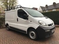 VAUXHALL VIVARO 2006/NISSAN PRIMASTAR/RENAULT TRAFIC-VERY LOW MILLAGE 78K FROM NEW 12 MONTHS MOT