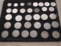 old silver coinage