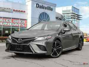 2018 Toyota Camry XSE V6 | HEATED RED LEATHER | PANORAMIC SUNROO
