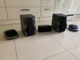 Set of speakers that can be used as 5.1 sound system