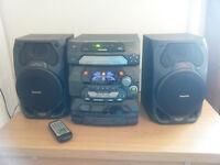 Panasonic - cd stereo system SA-AK17