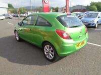 Vauxhall Corsa ACTIVE ECOFLEX (green) 2012-09-28
