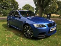 BMW 3 SERIES 325i AUTO FULL M3 REPLICA IN M3 ESTORIL BLUE FULLY LOADED CHEAPEST IN UK PX S3 GTI R RS
