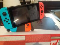 Nintendo Switch Console Black/Neon Red/Neon Blue