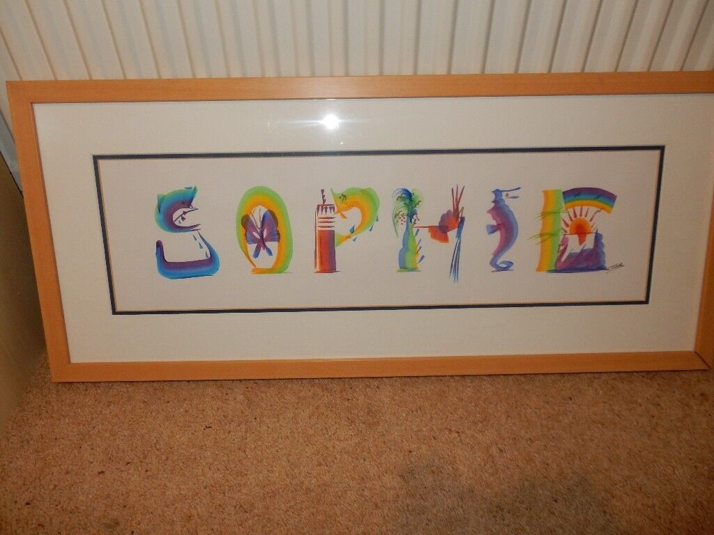 """""""Sophie"""" - Hand Painted Wall Art Picture"""