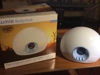 Lumber Bodyclock lamp.