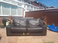 Free Leather Sofa with metal action sofa bed used condition