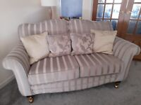 2/3 and 3/4 seater sofas and armchair