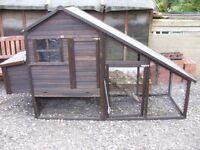Chicken coop, run rabbit hutch