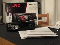 JVC KD-R321 car stereo CD player mp3 aux in for ipod/phone