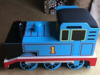 Thomas the Tank Engine large Wooden Storage Box with Padded Seat