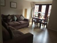 Two bedroom Glasgow West End fully furnished flat to let
