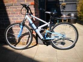 Full suspension mountain bike - good condition