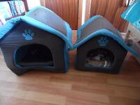 2 DOG/CAT BEDS
