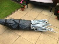 TENT POLES (STEEL) ROYAL BORDEAUX 6SG IN BAG
