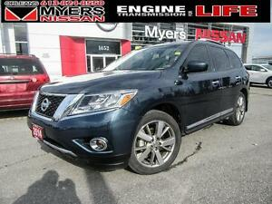 2014 Nissan Pathfinder Platinum, AWD, Navigation, Leather, Allwh