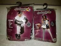 Harlequin fancy dress costumes