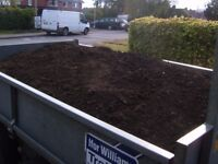 trailer loads of screened top soil