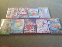 9 Barbie dvds for sale