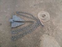 danforth galvanised anchor