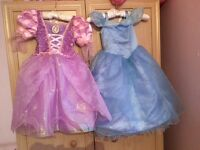Disney store princess dresses age 3 years
