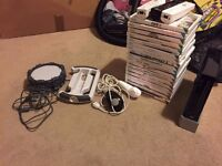Black wii bundle with box