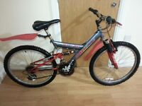 Boys bike with 24 inch wheel size