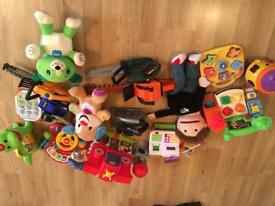 Kids toy bundle inc Fisher price and v tech