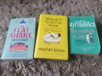 3 books for sale. romantic/comedy