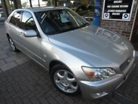 LEXUS IS 200 2.0 S 4dr Auto (silver) 2001